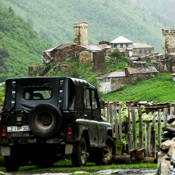 10 Day Svaneti Self Drive Jeep Tour