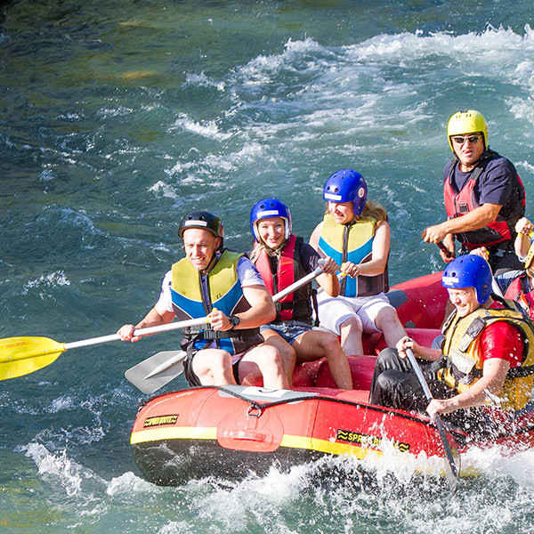 Rafting & Adventure Park Tour